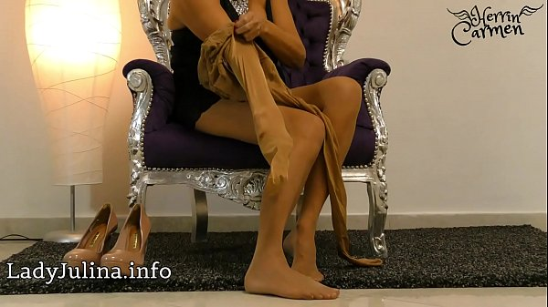 Pantyhose, Nylon, High heels, Heels, Pantyhose mature, Mistress t