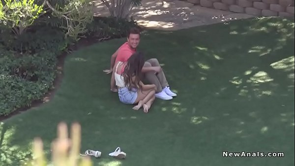 Anal fuck, Outdoor anal