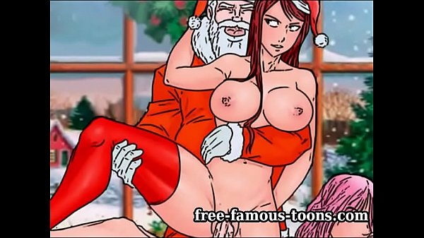 Cartoon, Famous, Xmas, Cartoons