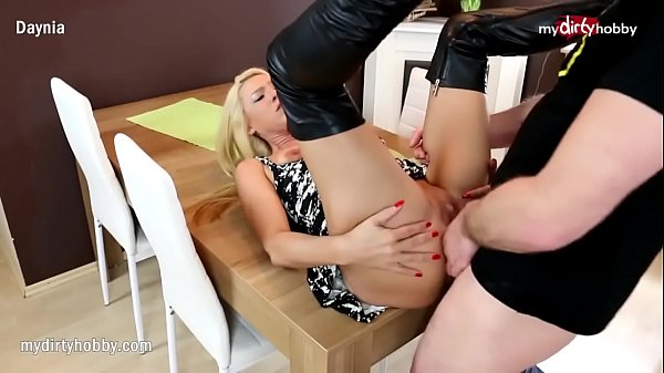 Boots, Leather anal, Dirty anal