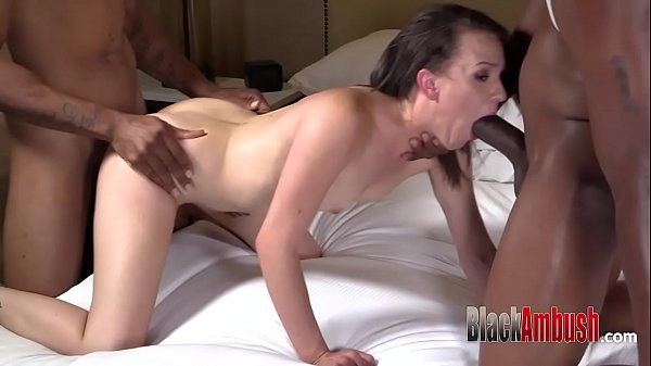 Creampie, Interracial anal
