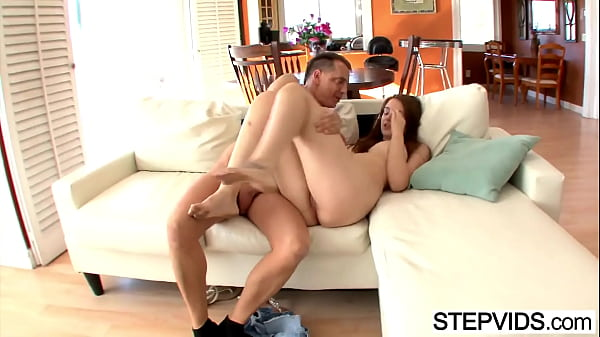 Step, Busty, Step dad, Elektra rose, Dad step