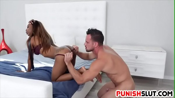 Ebony anal, Punish, Lesson, Anal punishment, Anal punish