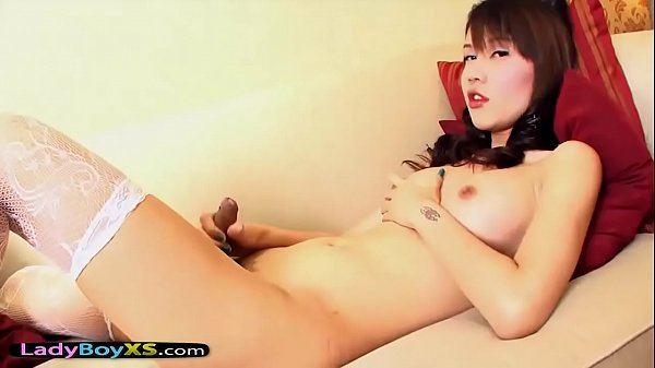Pov, Asian ladyboy