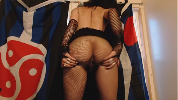 Pantyhose, Fishnet, Self, Spanking girls, Fishnets