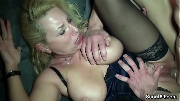 German amateur, Big milf