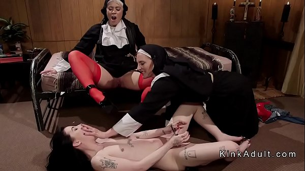 Nuns, Slave, Nun anal, Dominatrix