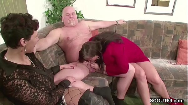 Old mature, German threesome, German mature, Threesome mature, Old man fuck, Milf mature