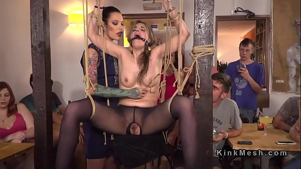 Public slave, Caning, Mistress t, Caned