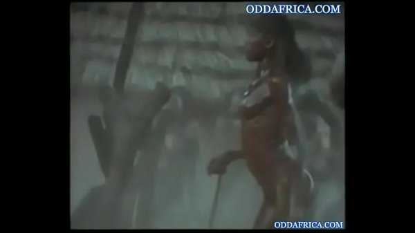 African, Dancing naked