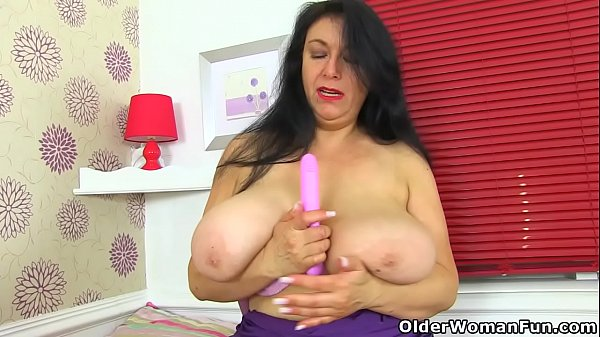 Milf big tits, English milf